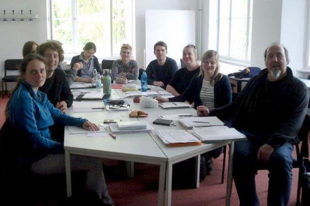 Lehrerinnen und Lehrer diskutieren mit GEKO über Europa