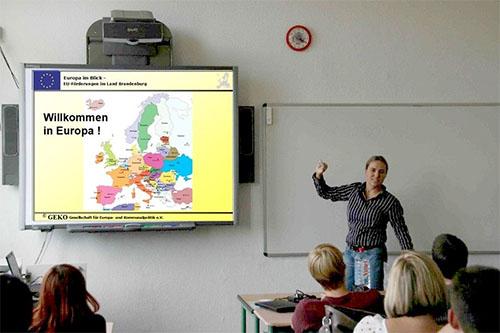 Europa im Blick III. Dozentin erklärt Europa