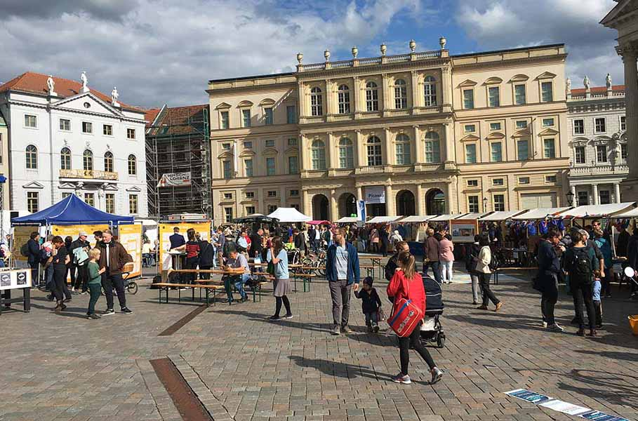 Europafest vor historischer Kulisse, Potsdam 9.5.2019