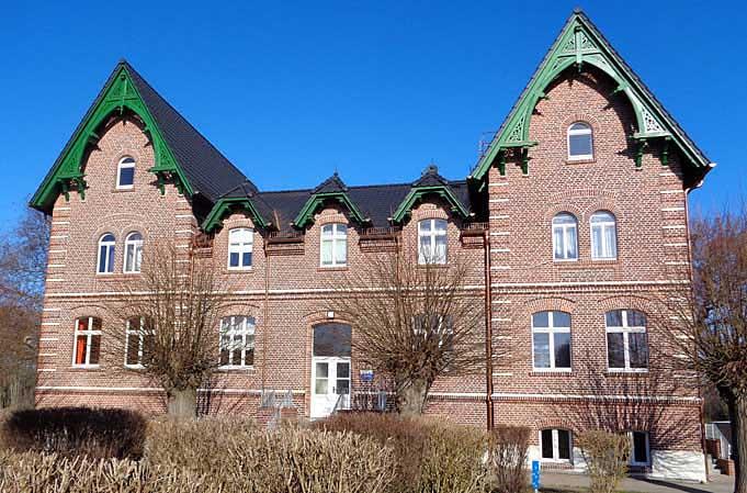 Gutshaus Stremmen (Gemeinde Tauche) Foto Copyright: ELER Brandenburg